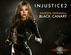 Vanessa Marshall - Black Canary - Title Card