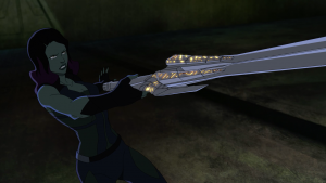 Vanessa Marshall - Gamora - Sword