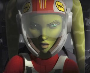 Vanessa Marshall - Hera Pilot Close Up