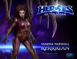 Vanessa Marshall - Kerrigan - Heroes of the Storm