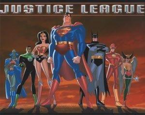 Phil LaMarr - Justice League Collage