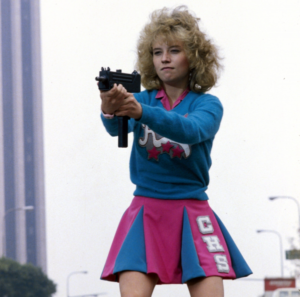 Kelli Maroney - Cheer Gun