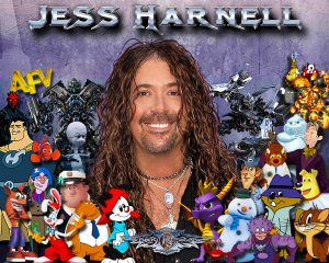 Jess Harnell - Character Collage