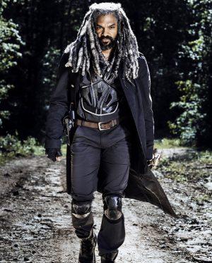 Khary Payton - Ezekiel walking