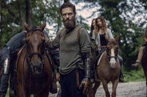 Ross Marquand - TWD with horses