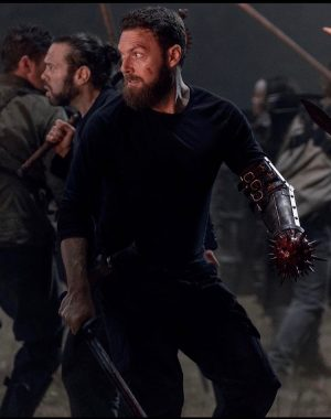 Ross Marquand - battle at the castle close up