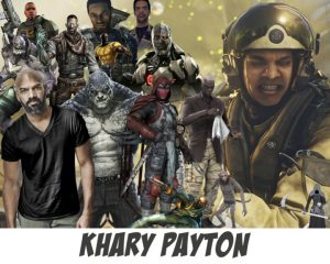 Khary Payton - Character Collage